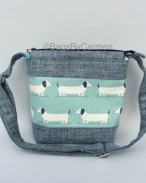 Blue Dog Shoulder Bag