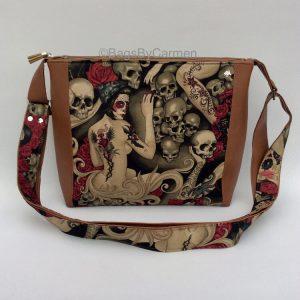 Tattoo Lady Shoulder Bag