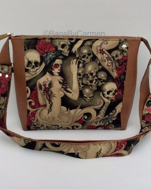 Tattoo Lady Shoulder Bag