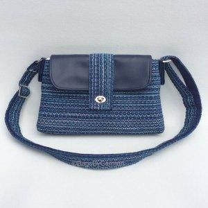 Blue Stripes Shoulder Bag