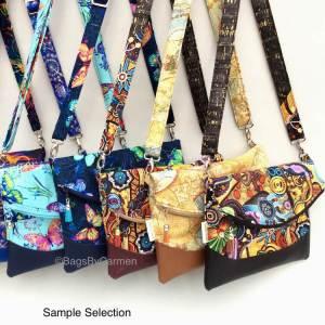 Shoulder Bag – Printed Cotton_Sample Selection