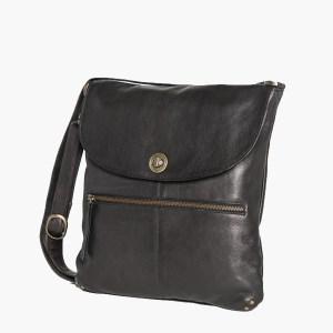 Rugged Hide Bianca Leather Handbag