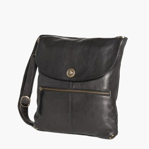 Rugged Hide Bianca Leather Handbag
