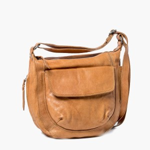 Rugged Hide Celia Leather Handbag