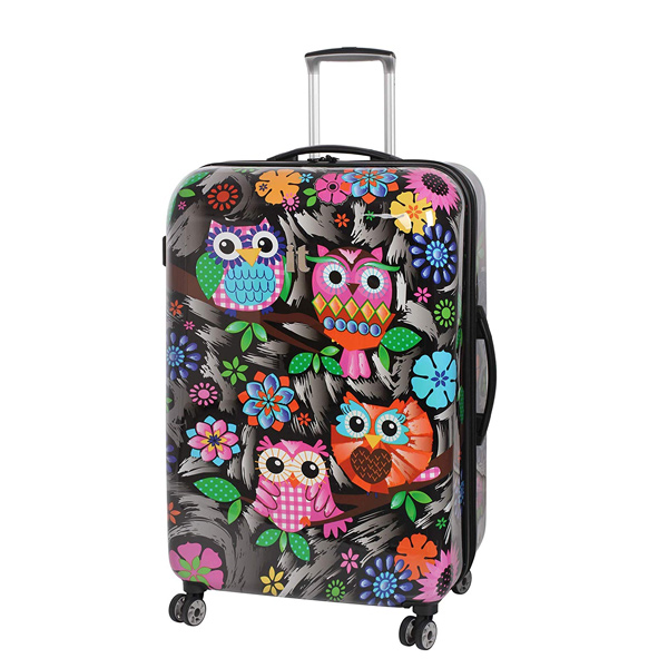 Owl Print IT Luggage