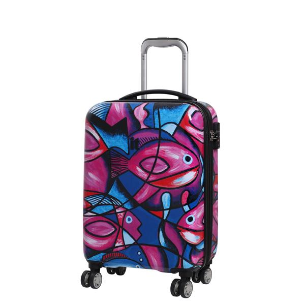 IT Luggage Fish Print