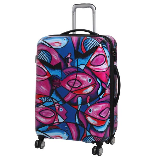Fish Print IT Luggage