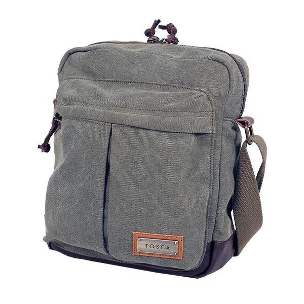 TOSCA Canvas Shoulder Bag