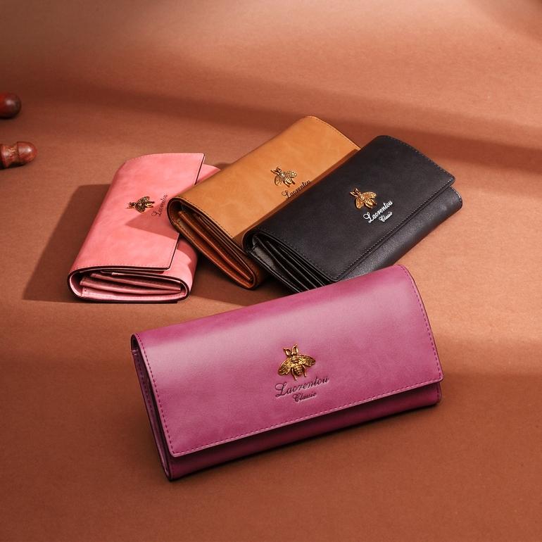 Кошелек женский длинный пурпурного цвета пурпурный купить Киев Днепр Запорожье