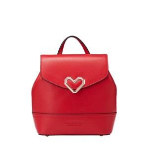 Купить Сумка рюкзак женский красный кожаный натуральная кожа цена Киев Запорожье Харьков Днепр Украина