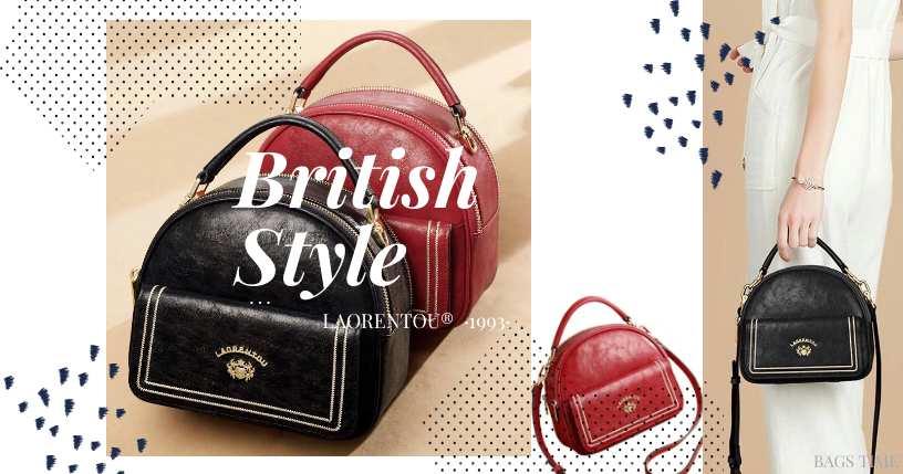 Стильная, компактная женская сумка с карманомот бренда LAORENTOU®. Новинка на BAGS TIME!