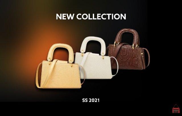 Шкіряна міні-сумка з асиметричним дизайном від FOXER® Нова колекція Весна-Літо 2021!