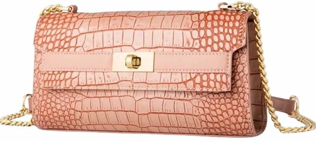 Модна новинка від ZOOLER® — сумка-багет рожевого кольору
