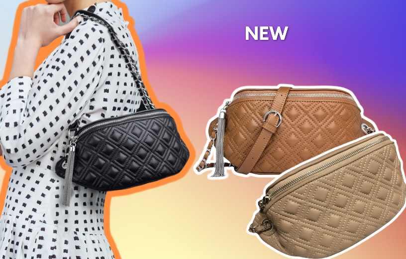 Купити поясну шкіряну сумку Zooler, Crossbody belt. Новинка в BAGS TIME!