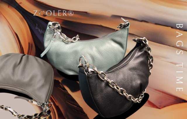 Купити сумку-хобо на ланцюжку на плече жіночу шкіряну Zooler, Designer hobo. Новинка в BAGS TIME!