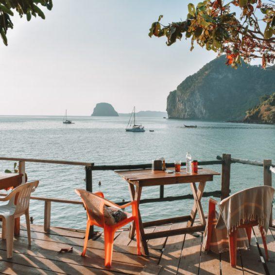 strand van koh mook in thailand