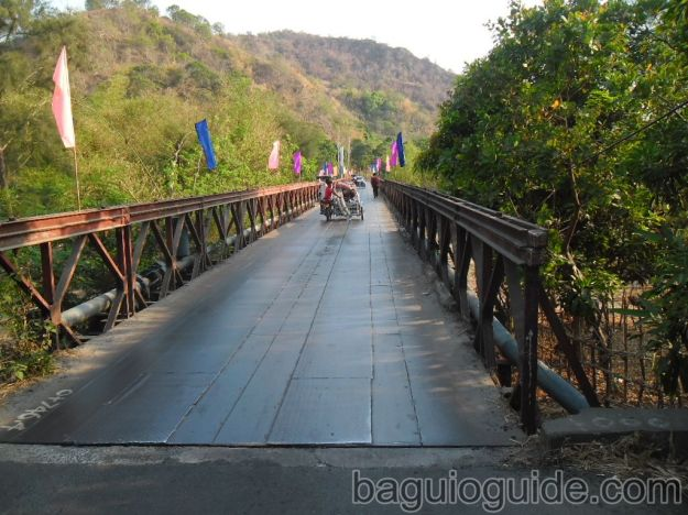 bridge going to pundaquit