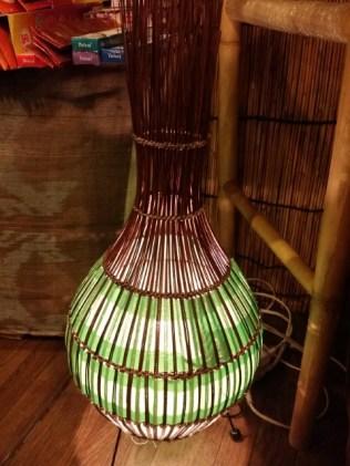 人気の玉ねぎ形ランプ♪高さ約110cm