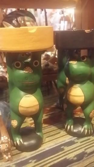 バリ島木彫り動物