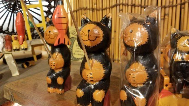バリ島可愛い木彫り