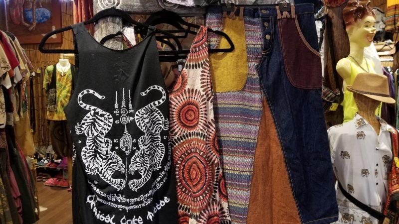 エスニック服のリサイクル