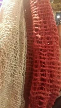 チェンマイコットン、紡ぎ