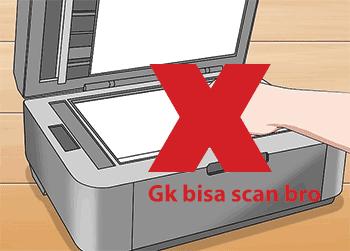 Penyebab Kenapa Printer Tidak Bisa Scan