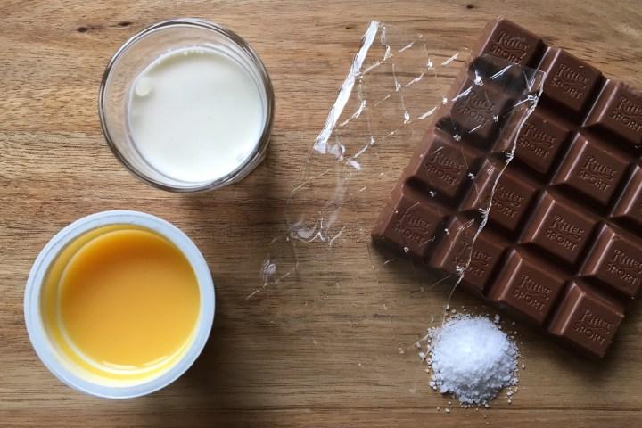 Ingredienser Chokolademousse