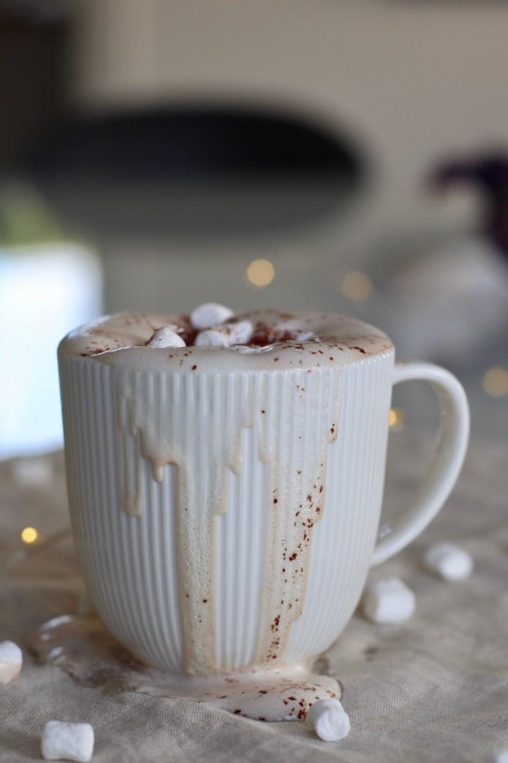 Varm kakao spildt Bagvrk.dk