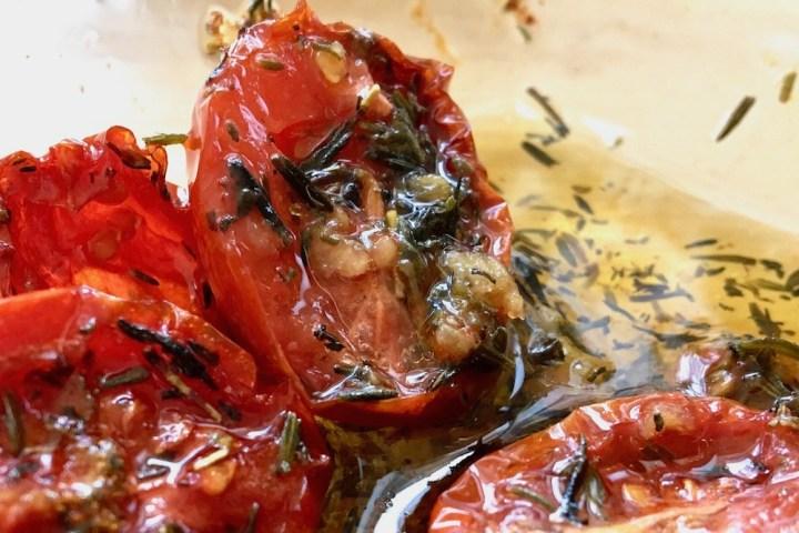 Langtidsbagte tomater semidried tomater Bagvrk.dk