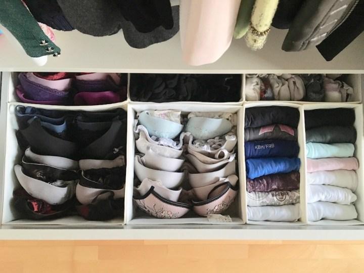 Undertøj i skuffe - En guide til at rydde op i dit tøj fra Bagvrk.dk