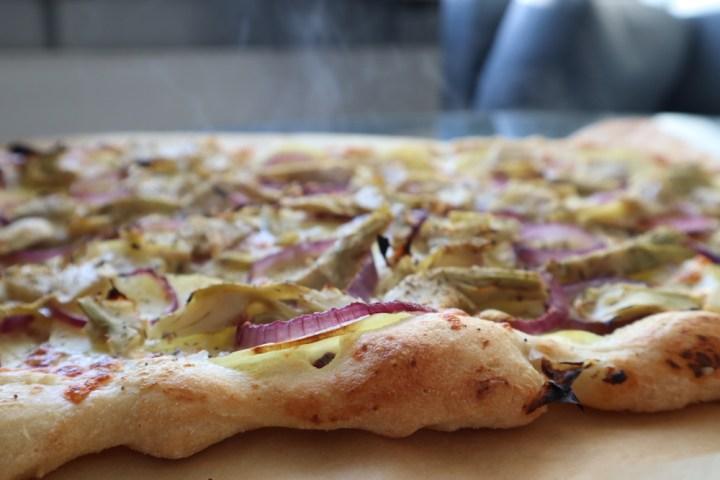 En pizza bagt på Diablosteel Bagvrk.dk