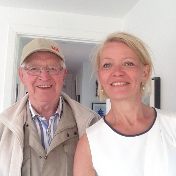 Selfie med far Bagvrk.dk