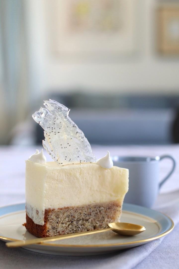 Citronfromage kage med små marengs Bagvrk.dk