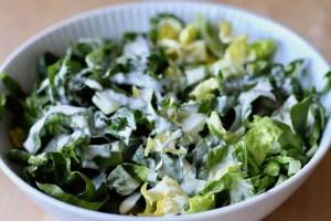 Grøn salat med mormordressing Bagvrk.dk 2