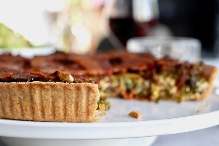 Tærte med savoykål kagemel sprød tærte Bagvrk.dk