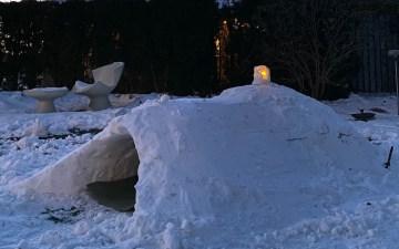 Vinterferie 2021 snehule igloo Bagvrk.dk