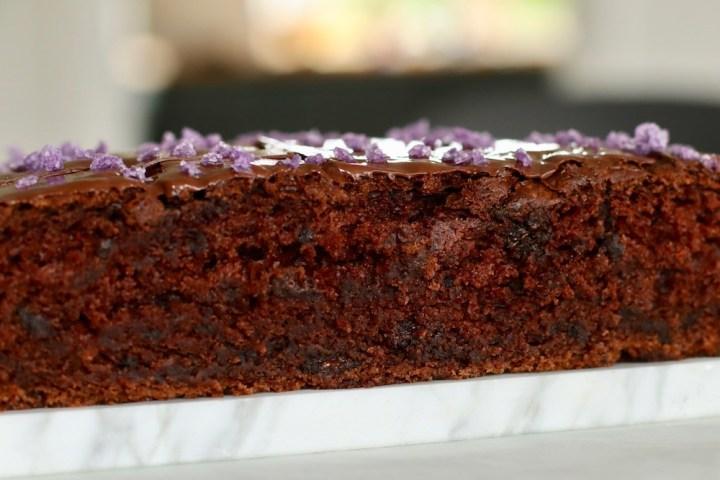 Chokoladekage snit Bagvrk.dk