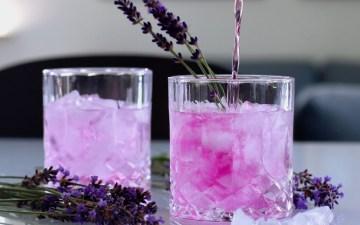 Lavendelsaft udvalgt Bagvrk.dk