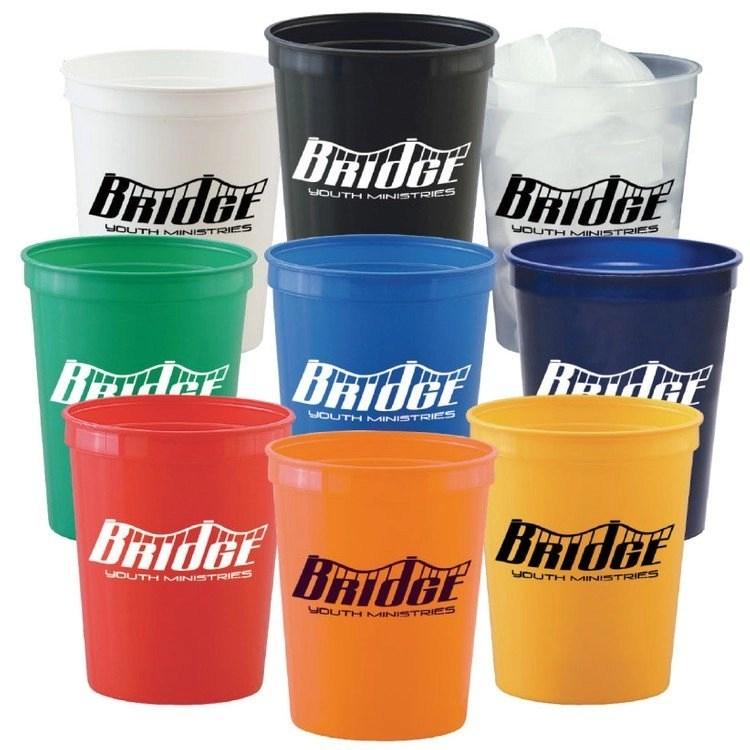 Imprinted Promotional Stadium Cups