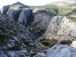 Schlucht des Flusses Cetina