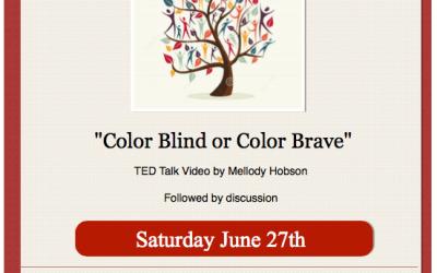 Color Blind or Color Brave