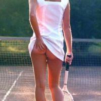 Tennis does have a Funny side.