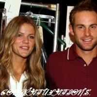 Mr. and Mrs. Andy Roddick!!