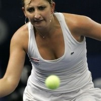 Timea Bacsinszky wins her first WTA title.