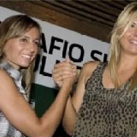 The Sharapova/Dulko circus arrives in Brazil.