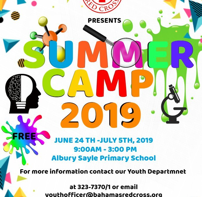 Bahamas Red Cross: Summer Camp 2019
