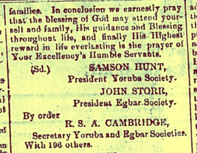 Rescued Yoruba and Egbar Slaves Arrive in Nassau May 4th , 1838