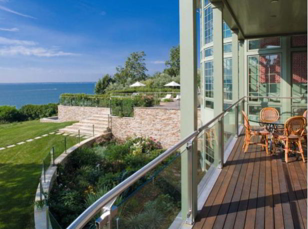 Glass and Metal Deck