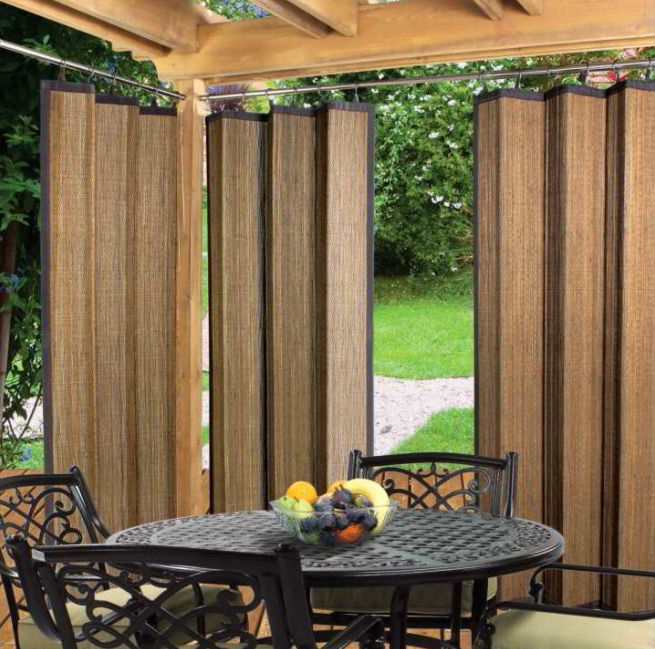 Bamboo curtain design